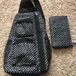 Thirty-one sling back purse/wallet